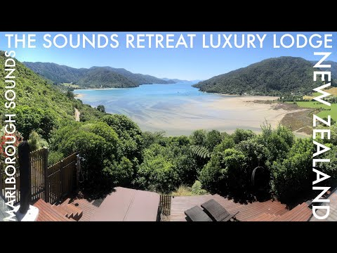The Ultimate Luxury Accommodation In New Zealand.  The Sounds Retreat Luxury Lodge, Marlborough.