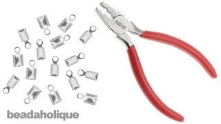 How to Use Fold Over Crimping Pliers