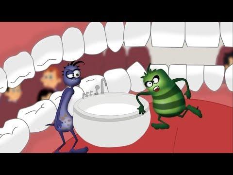 Çürük Ali Ve Mikrop Necati – Süt Diş & 12 Saat -  2 Bölüm Bir Arada – Çocuklar Için Çizgi Film