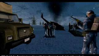 project i g i i m going in pc mission 7 border crossing   hard difficulty   part 1 of 2
