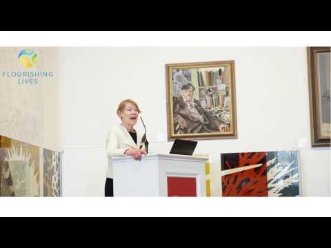 Glenda Jackson Speech + Q&A (Flourishing Lives Conference 2017)