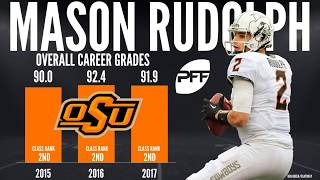 Pff analysts sam monson and steve palazzolo provide their scouting report on nfl draft prospect mason rudolph from the oklahoma state cowboys. read more anal...