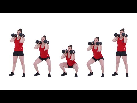 The Dumbbell Front Squat