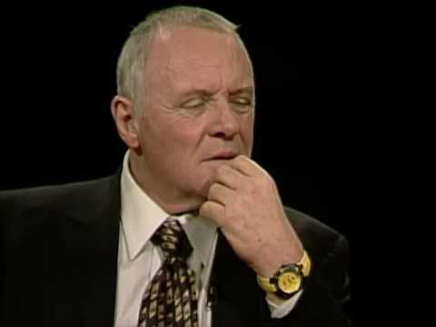 Anthony Hopkins Job İnterview On Hannibal Charlie Rose 2001 & Martinez And Jacob