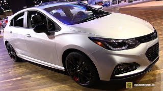 2017 Chevrolet Cruze RS Hatchback Redline - Exterior Interior Walkaround - 2017 Chicago Auto Show