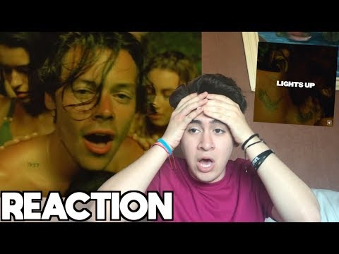 harry-styles---lights-up-[reaction]