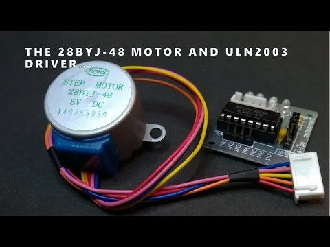 28BYJ-48 Stepper Motor And ULN2003 Driver Intro