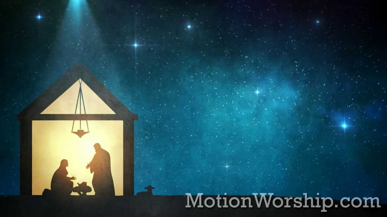 3d Motion Wallpapers For Desktop Free Download Bethlehem Star Nativity Hd Christmas Loop By Motion