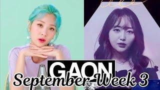 [TOP 50] Gaon Korean Music Chart 2019 [September Week 3]