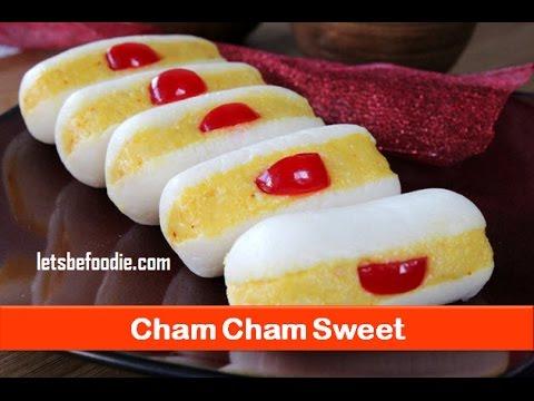 Holi sweets/Indian sweet cham cham recipe/easy sweet dish recipe/homemade sweet- letsbefoodie.com