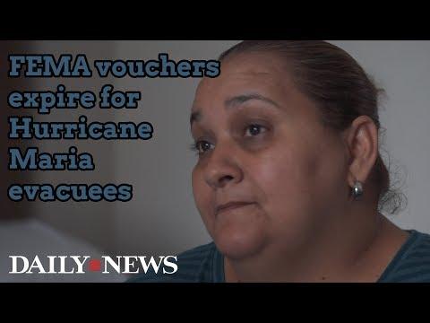 FEMA vouchers expire for Hurricane Maria evacuees