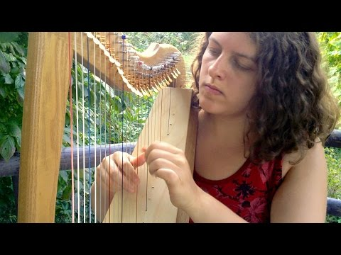 Atmosphere | Celtic Harp Instrumental | Traveling Harp Lewis Creek Jessie