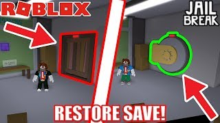 How to RESTORE YOUR SAVE! | Roblox Heists (Jailbreak Game)