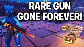The rarest weapon ever is now gone forever! 😞😳 (Scammer Get Scammed) Fortnite Save The World