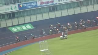 第72回国民体育大会・自転車競技会/少年男子スクラッチ(6km)予選1組目