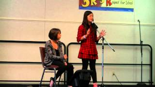 "Bridget - ""popular"" of Wicked (cover) - Aliceshaw Elem. Talent Show"