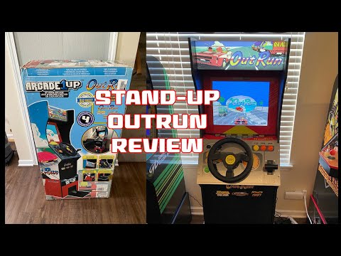 Arcade1up Outrun Standup Unboxing, Assembly, and Review from SonicGT73