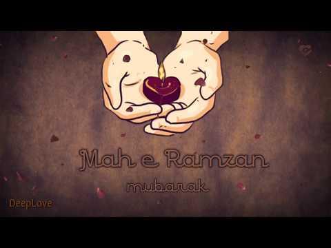 Awesome Shayari | Ramzan Mubarak [ Hinglish Words ] Whatsapp Status Video