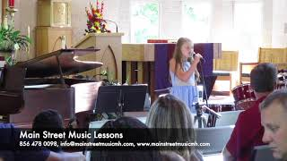 Laurel Munning performing My Church by Maren Morris