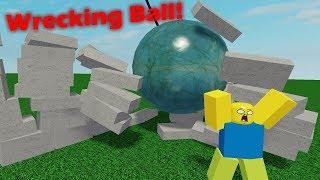 Infinite Wrecking Ball! - Roblox Studio Tutorial