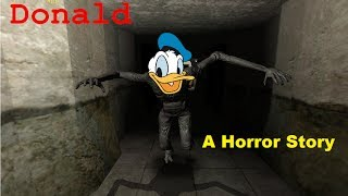 Donald: Horror Story   THAT IS DEFINATELY NOT DONALD DUCK!