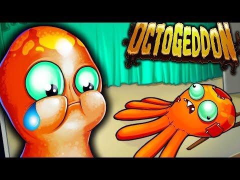 МЕСТЬ ОСЬМИНОГА! Осьминог МУТАНТ Уничтожает ГОРОДА - Octogeddon #2