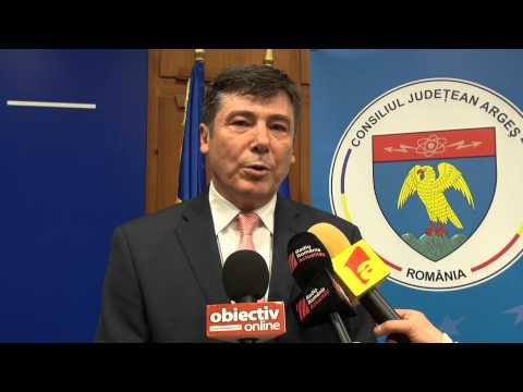 Primele declaratii ale lui Florin Tecau, dupa investitura de la CJ Arges