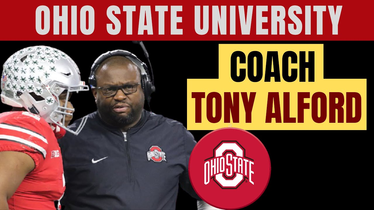 """Tony Alford, Coach OSU Buckeyes """"What I Learned From My Dad About How To Be A Great Dad"""""""