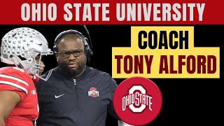 Tony Alford, Assistant Head Coach/Running Backs Coach Ohio State University Buckeyes FULL INTERVIEW