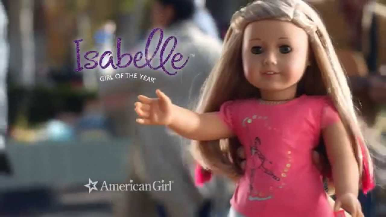 American Girl Year 2014 Isabelle