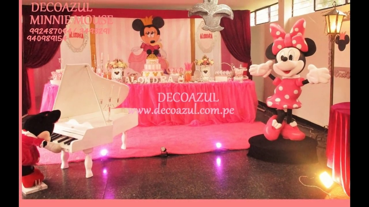 Decoracion de fiestas infantiles minnie mouse fiesta for Decoracion de i