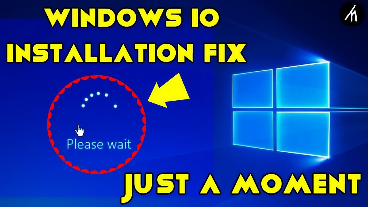 How to Fix Windows 10 Installation (JUST A MOMENT) Loop Bug in 2