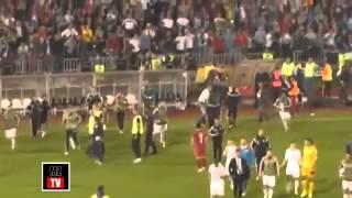 Новости Сегодня ! ДРАКА ФУТБОЛИСТОВ! Отборочный матч Евро 2016 Сербия — Албания сорван из за драки