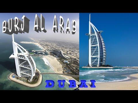 Jumeirah Beach & 7 Star Hotel Burj Al Arab, Dubai, 4K