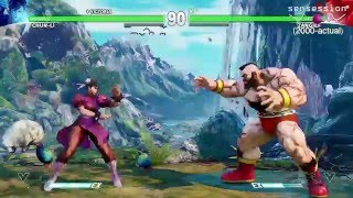 Street Fighter V Gameplay PS4 Sensession