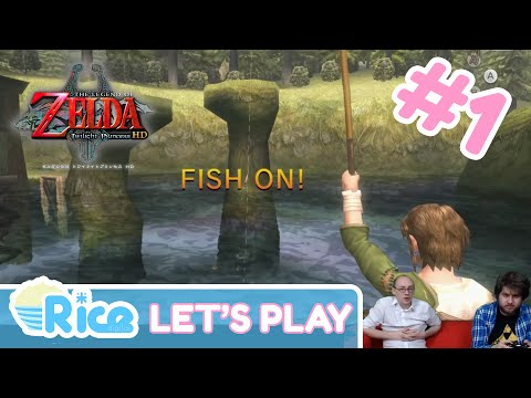Let's Play The Legend Of Zelda: Twilight Princess HD #1: Fish On! (First 20 Mins)