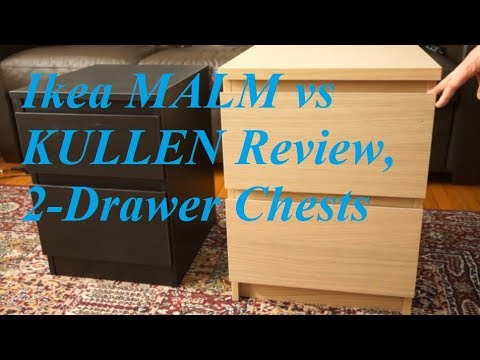Review: Ikea MALM vs KULLEN 2-Drawer Chests