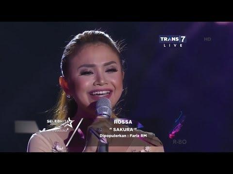 SELEBRITA AWARDS 2017 Rossa - Sakura