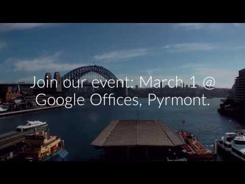 Sydney Google Maps API Event