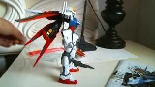 Gundam Seed Master Grade Aile Strike Model Kit