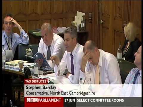 UK Tax Disputes - HMRC & Accountancy (BBC Parliament)