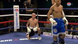 'The King' Lyon Woodstock stops Antonio Horvatic in 3 rounds