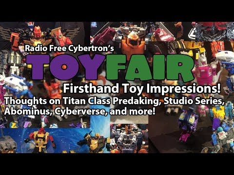 RFC's Toy Fair 2018 Transformers Recap and Firsthand Toy Impressions