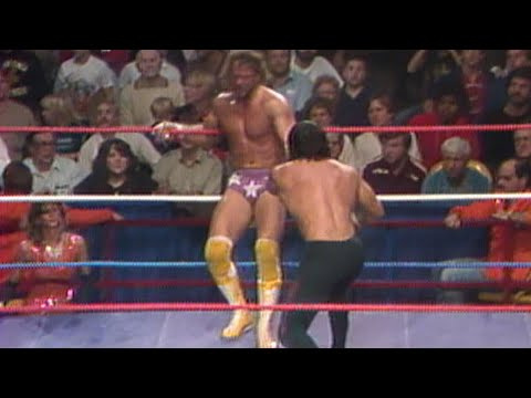 Randy Savage vs. Ricky Steamboat - Quarter Final Tournament Match: The Wrestling Classic 1985