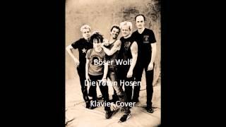 Böser Wolf-Die Toten Hosen-Klavier Cover
