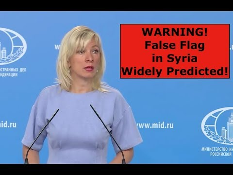 WARNING! False Flag in Syria Widely Predicted! #LiberateIdlib