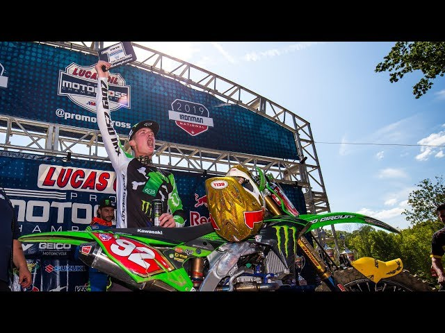Adam Cianciarulo Pro Motocross 250 Class Champion Highlights Remastered | Racer X Films