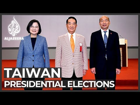 Ahead of election, Taiwan president calls China 'biggest threat'