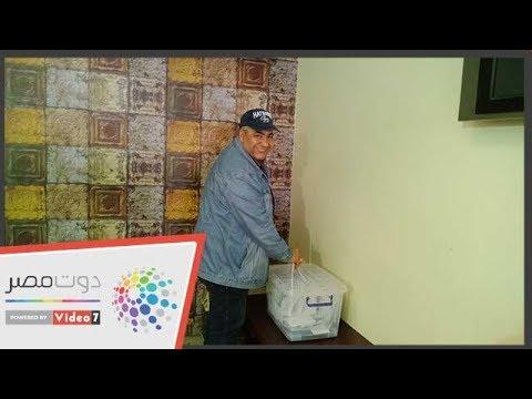 هاني سلامة وبيومي فؤاد يشاركون فى انتخابات المهن التمثيلية  - 18:54-2019 / 3 / 22