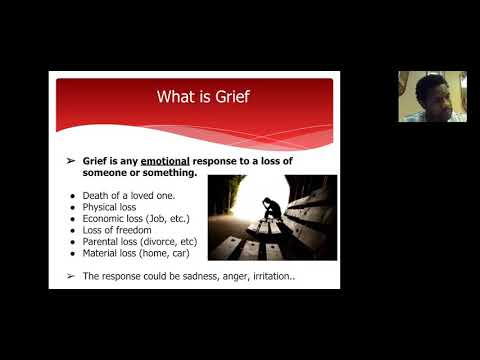Dealing With Grief Timothy G. Lane, M.A